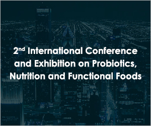 2nd International Conference and Exhibition on Probiotics, Nutrition and Functional Foods