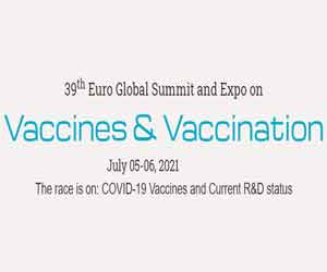 39th Euro Global Summit and Expo on Vaccines & Vaccination