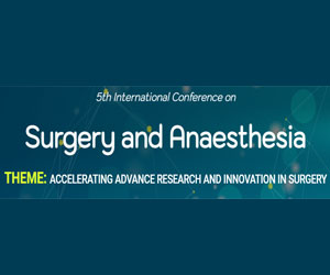 5th International Conference on Surgery and Anaesthesia