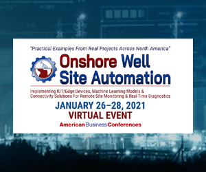 Onshore Annual Well Site Automation 2021